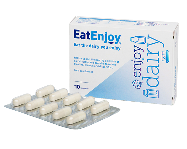 EatEnjoy Dairy Digestive Enzyme Supplement